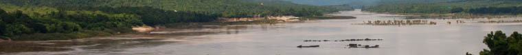 wide view of the Mekong River