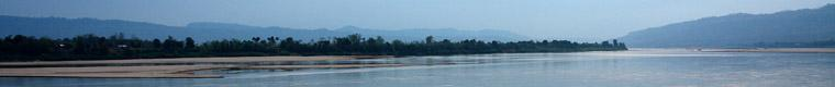 wide view of Mekong River