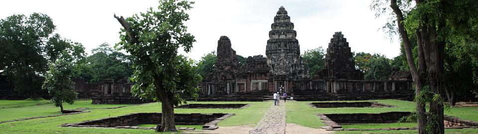 Phimai Khmer temple ruin
