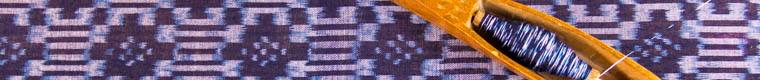 silk fabric and thread