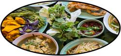 various isan foods