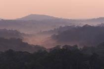 morning fog on mountains