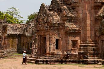 main prang of Phanom Rung Khmer ruin