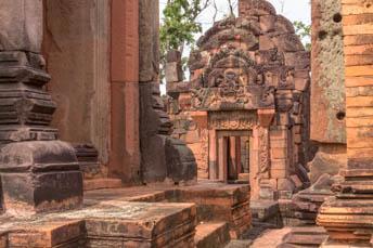 tower of Khmer ruin